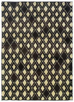 Oriental Weavers Marrakesh 5994s Chocolate/Ivory Area Rug