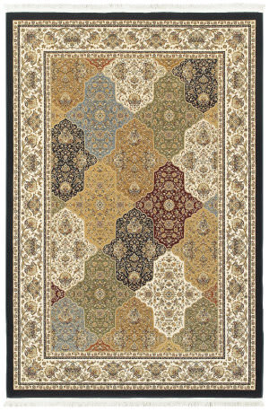 Oriental Weavers Masterpiece 1331x Navy - Multi Area Rug