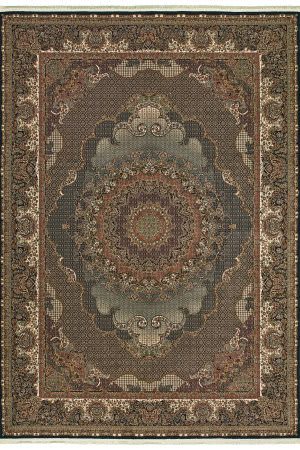 Oriental Weavers Masterpiece 5330b Blue - Red Area Rug