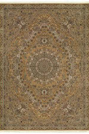 Oriental Weavers Masterpiece 8022j Gold - Ivory Area Rug
