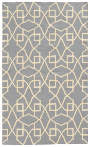 PANTONE UNIVERSE Matrix 4267l Grey/ Ivory Area Rug