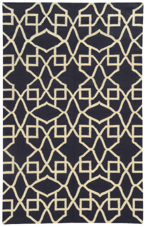 PANTONE UNIVERSE Matrix 4267p Purple/ Ivory Area Rug
