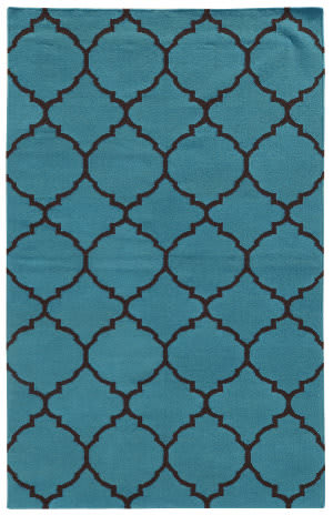 PANTONE UNIVERSE Matrix 4280s Blue/ Brown Area Rug
