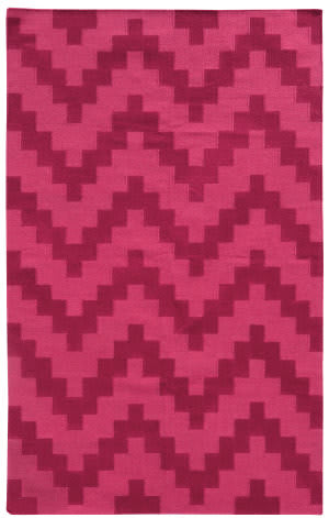 PANTONE UNIVERSE Matrix 4714a Pink/ Pink Area Rug