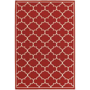 Oriental Weavers Meridian 1295r Red Area Rug