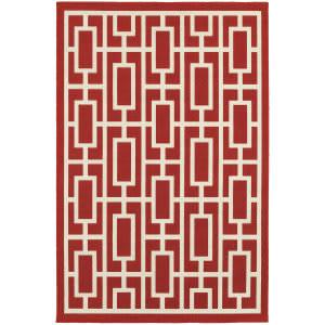 Oriental Weavers Meridian 9754r Red Area Rug