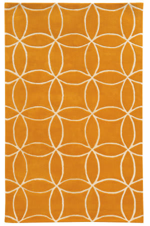 PANTONE UNIVERSE Optic 41105 Sunflower Area Rug