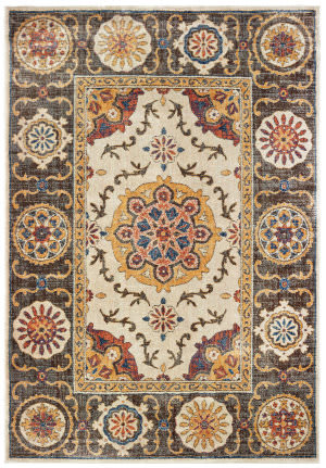 Oriental Weavers Pandora 4929x Ivory - Brown Area Rug
