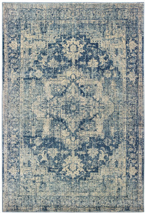 Oriental Weavers Pandora 070e7 Ivory - Blue Area Rug