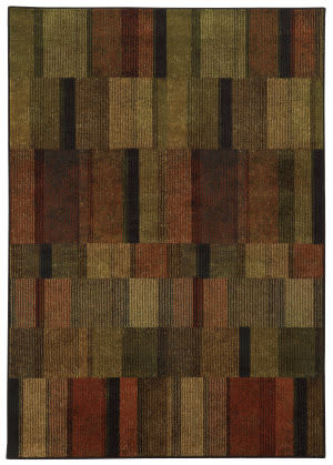 Oriental Weavers Parker 5589a Brown / Rust Area Rug