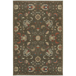 Oriental Weavers Pasha 31q Grey Area Rug