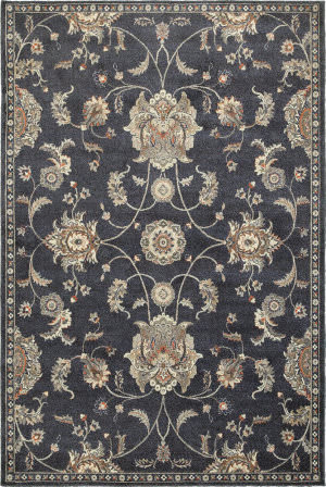 Oriental Weavers Pasha 4927b Blue - Ivory Area Rug