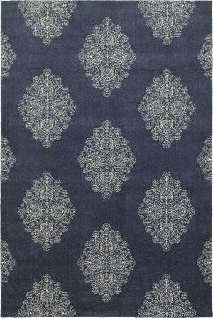 Oriental Weavers Pasha 5992k Blue - Ivory Area Rug