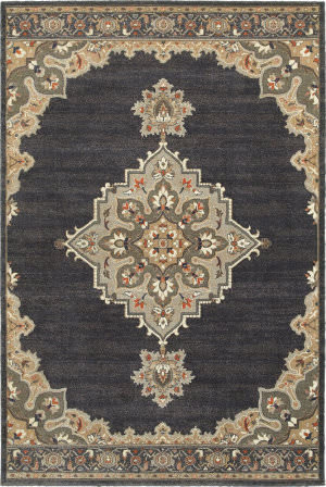 Oriental Weavers Pasha 72e Blue - Grey Area Rug
