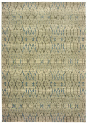 Oriental Weavers Raleigh 1807h Ivory - Blue Area Rug