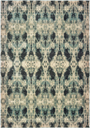 Oriental Weavers Raleigh 5507b Grey - Blue Area Rug