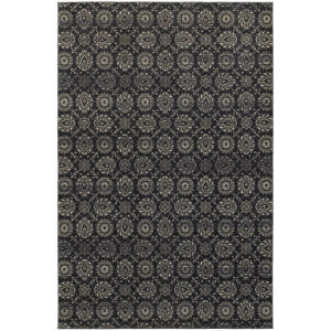 Oriental Weavers Richmond 214h Navy Area Rug