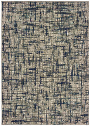 Oriental Weavers Richmond 802k3 Grey - Navy Area Rug
