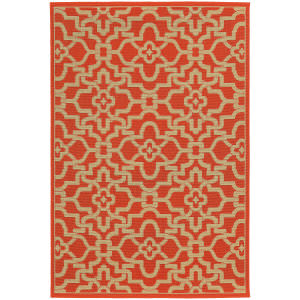 Tommy Bahama Seaside 3361r Orange Area Rug