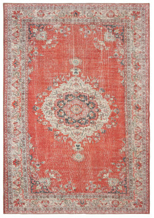 Oriental Weavers Sofia 85810 Red - Grey Area Rug