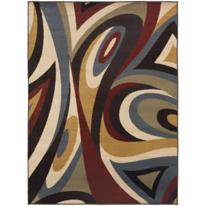 Oriental Weavers Stratton 6016b Brown Area Rug