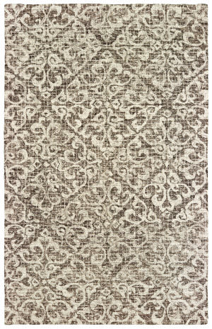 Oriental Weavers Tallavera 55607 Brown - Ivory Area Rug