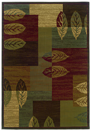 Oriental Weavers Tybee 2360r Brown Area Rug