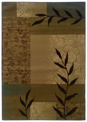 Oriental Weavers Tybee 2362j Tan Area Rug