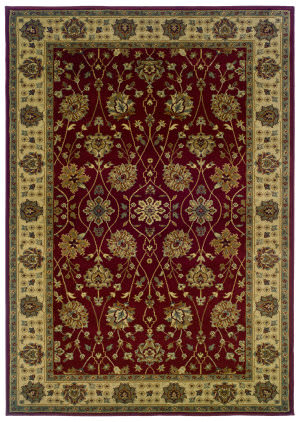Oriental Weavers Tybee 733r6 Red Area Rug