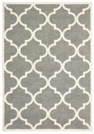 Oriental Weavers Verona 529h6 Grey - Ivory Area Rug