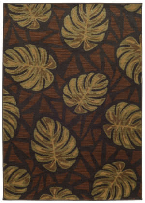 Tommy Bahama Voyage 5994n Brown Area Rug