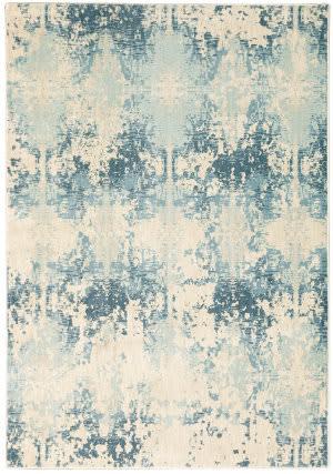 Oriental Weavers Xanadu 8020h Ivory - Blue Area Rug