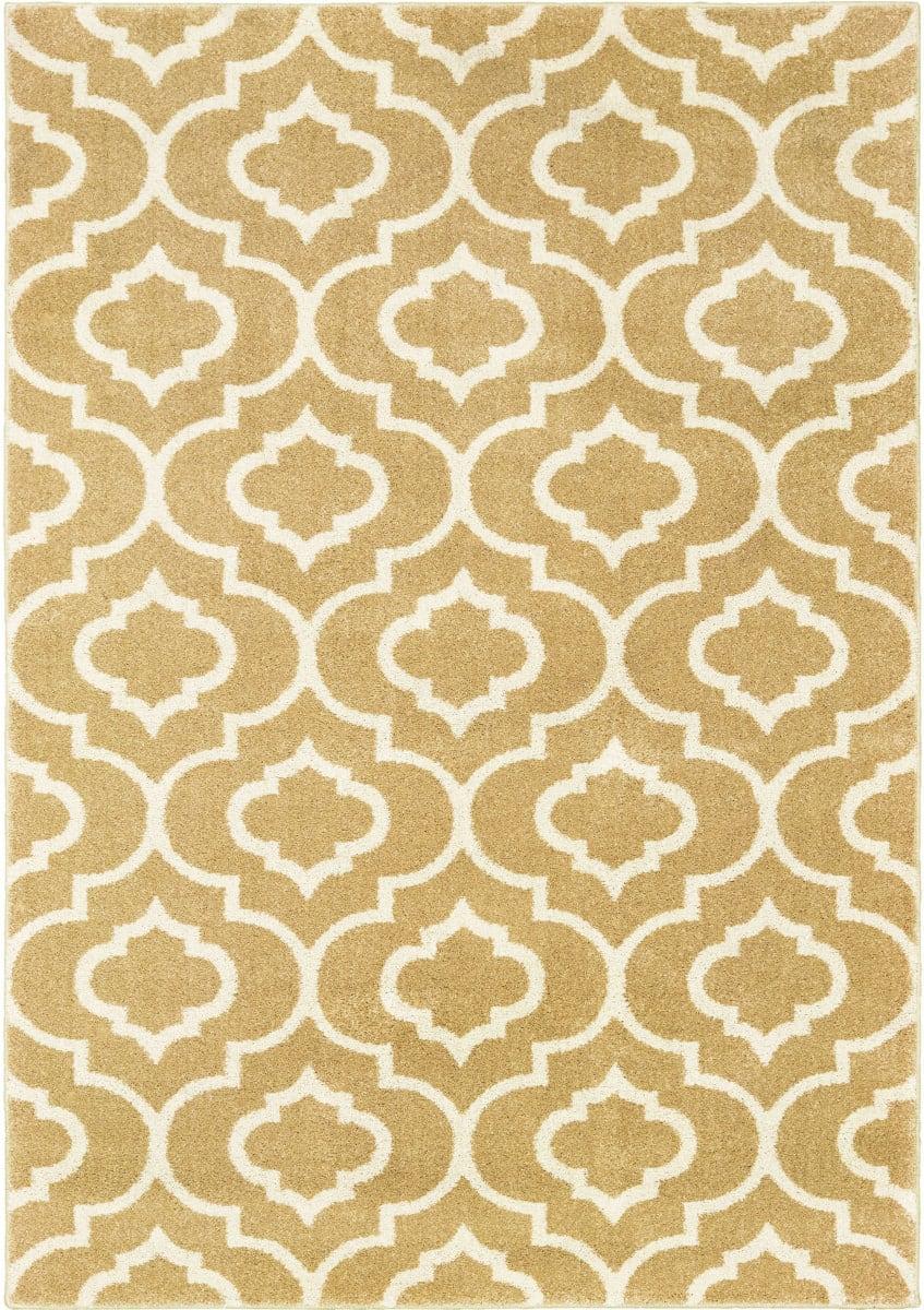 Oriental Weavers Carson 9672e Gold Ivory Rug Studio