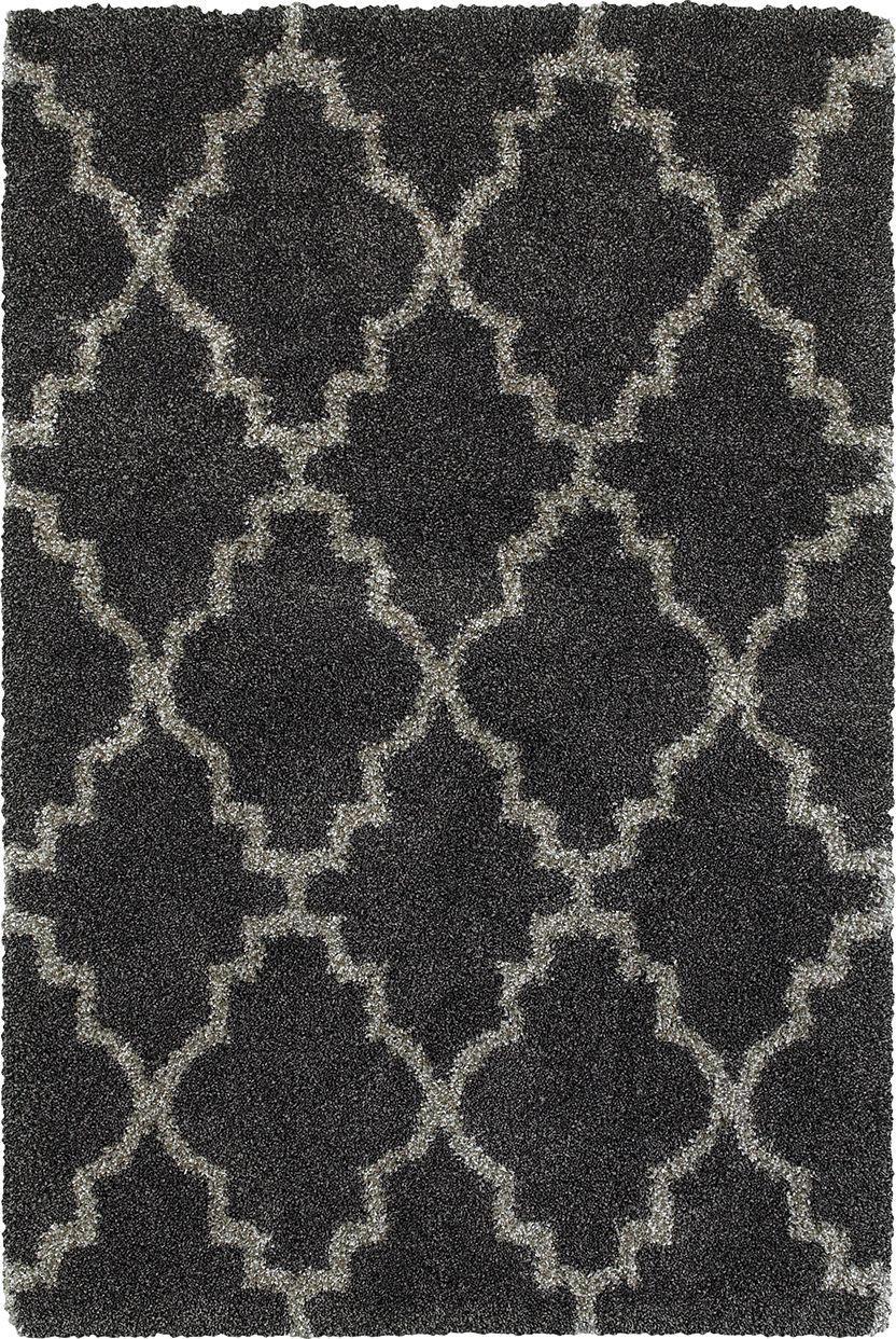 Oriental Weavers Henderson 92k Charcoal Grey Rug Studio