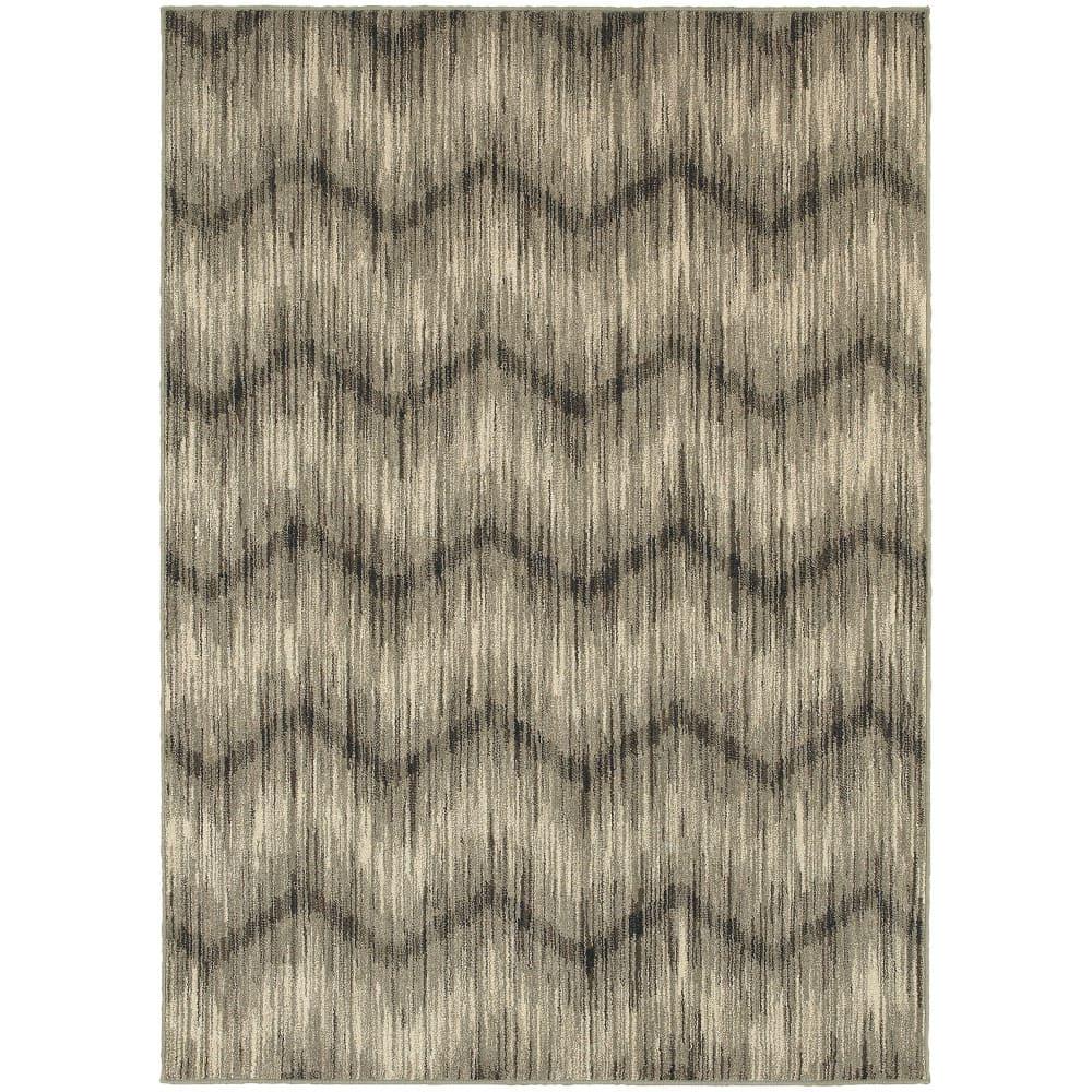Oriental Weavers Highlands 6608a Grey Rug Studio