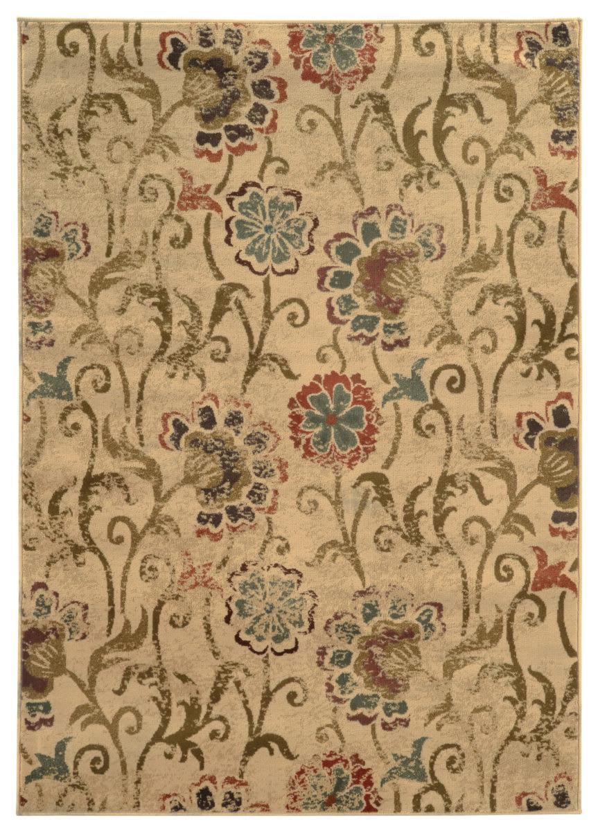 Oriental Weavers Hudson 4877b Ivory Multi Rug Studio