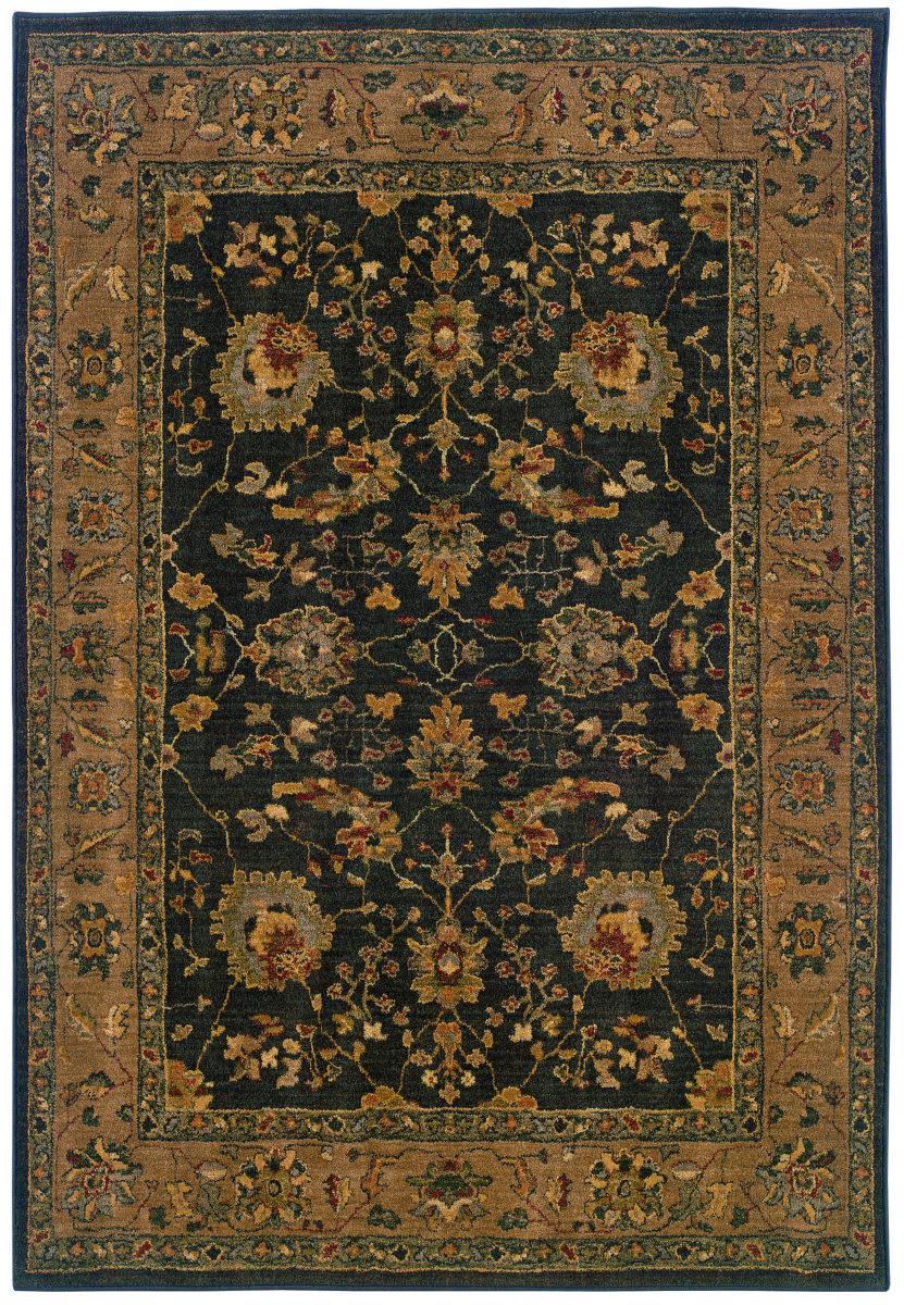 Oriental Weavers Infinity 1104f Black Tan Clearance Rug Studio