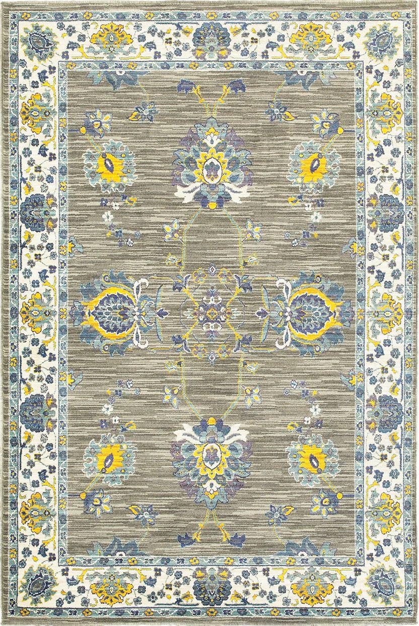 Oriental Weavers Joli 503d Grey Yellow Area Rug 167529