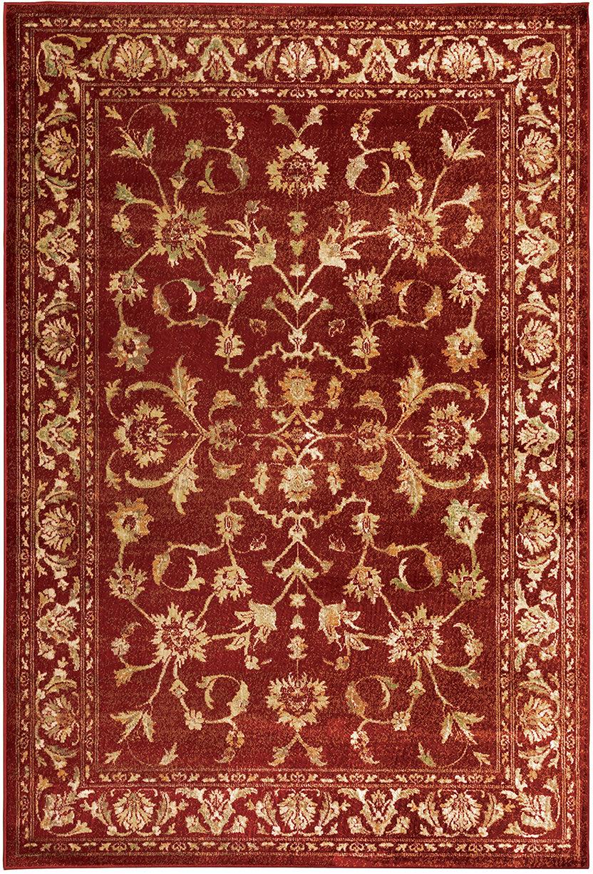 Picture of: Oriental Weavers Juliette 1331s Red Gold Rug Studio
