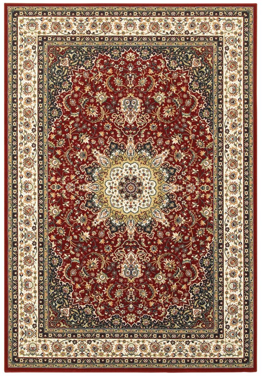 Oriental Weavers Kashan 119n Red Ivory Rug Studio