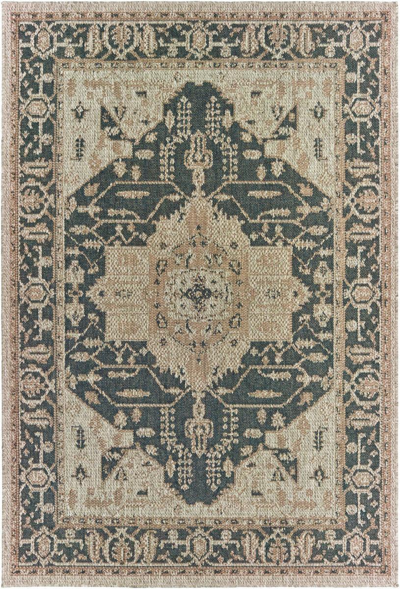 Oriental Weavers Latitude 001j3 Grey Gold Rug Studio