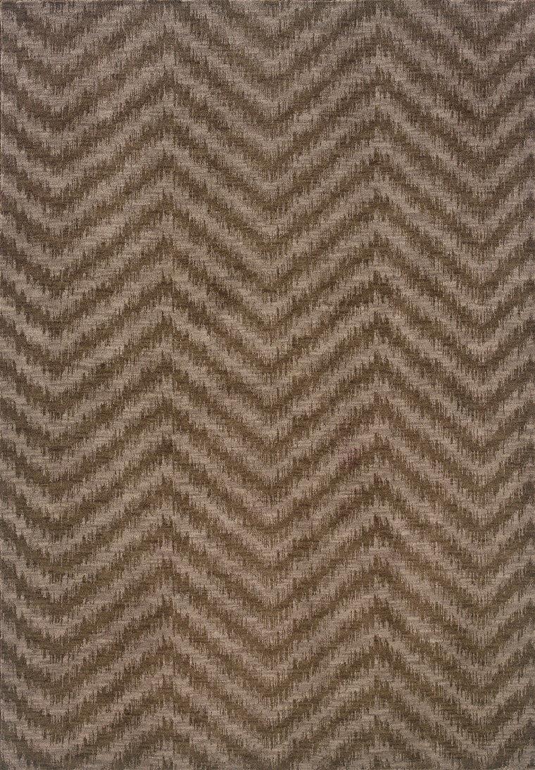 Oriental Weavers Milano 2923a Dark Taupe Clearance Rug