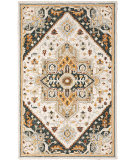 Oriental Weavers Alfresco 28407 Ivory - Charcoal Area Rug