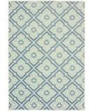 Oriental Weavers Barbados 1801h Blue - Ivory Area Rug