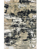 Oriental Weavers Bowen 109e2 Black - Gold Area Rug
