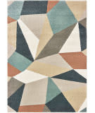 Oriental Weavers Carson 9659b Blue - Orange Area Rug
