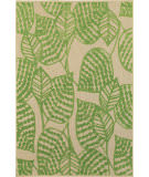 Oriental Weavers Cayman 566f Sand - Green Area Rug