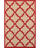 Oriental Weavers Cayman 660r Sand - Red Area Rug
