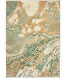 Oriental Weavers Dawson 8337a Green - Gold Area Rug