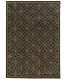 Oriental Weavers Ella 5188d Brown / Blue Area Rug